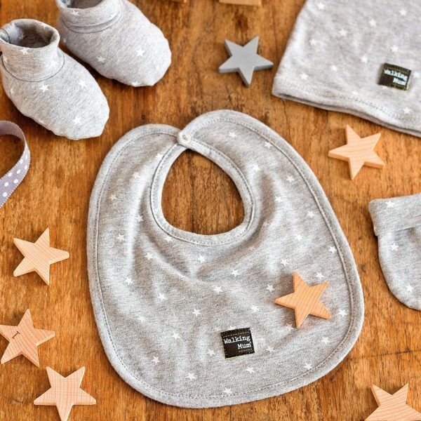 color gris Walking Mum Gaby Set de 2 bandanas