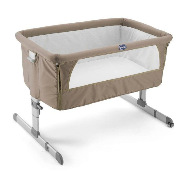 Cuna Next2Me Dove Grey de Chicco