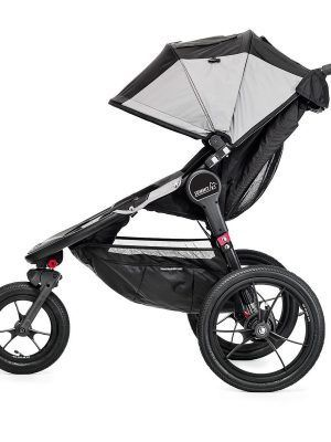 Baby Jogger Summit X3 Negro Lateral