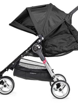 Baby Jogger City Mini 3 Negro Reclinado