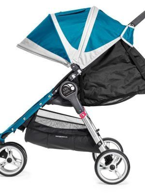 Baby Jogger City Mini 3 Turquesa Reclinado