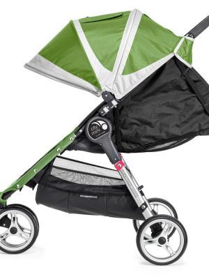Baby Jogger City Mini 3 Verde Reclinado