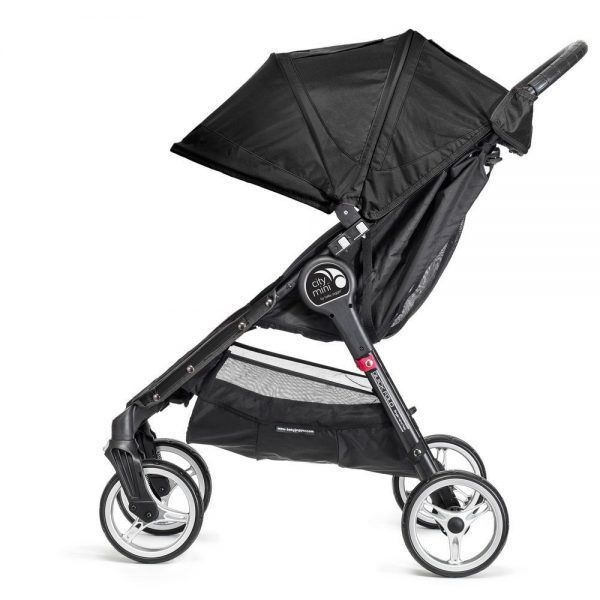 Baby Jogger City Mini 4 Negro Lateral