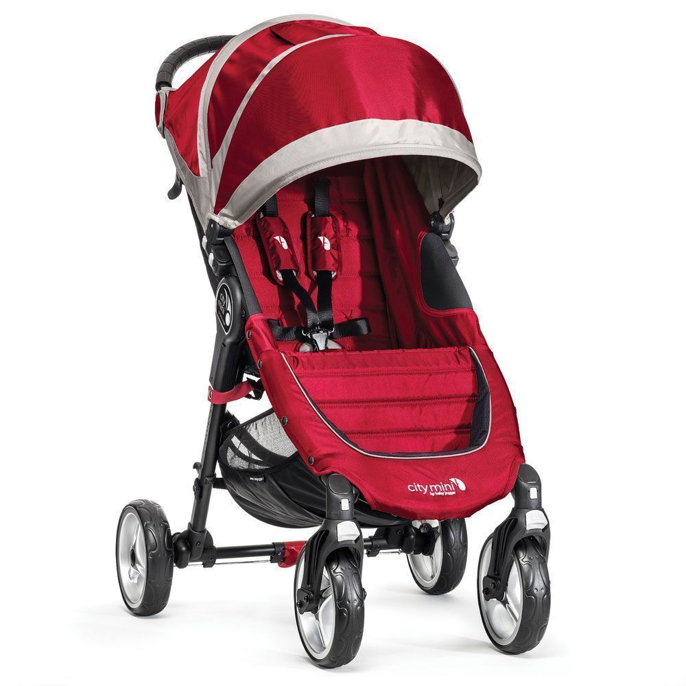 Baby Jogger City Mini 4 Rojo