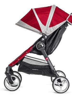 Baby Jogger City Mini 4 Rojo Lateral