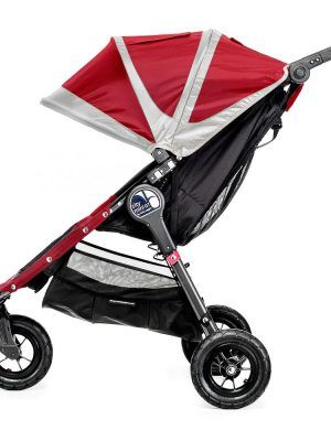 Baby Jogger City Mini GT Rojo/Gris Lateral