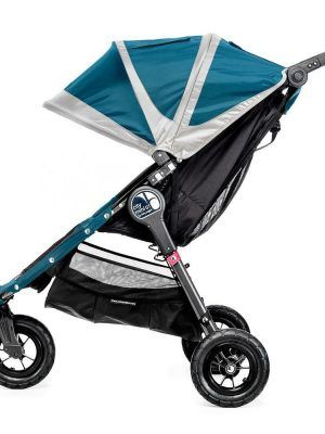 Baby Jogger City Mini GT Turquesa/Gris Lateral