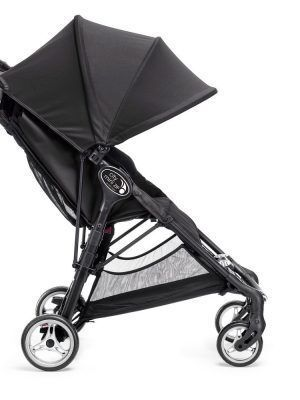 Baby Jogger City Mini Zip Negro Lateral