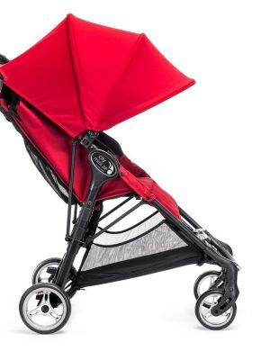 Baby Jogger City Mini Zip Rojo Lateral