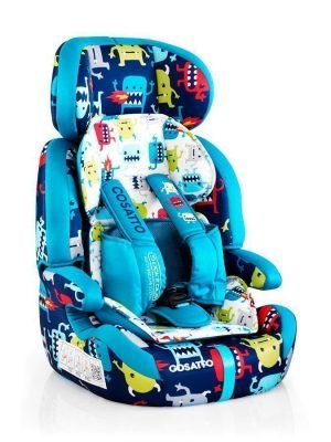 Silla de Auto Cosatto Zoomi Grupo 123 Cuddle Monster 2