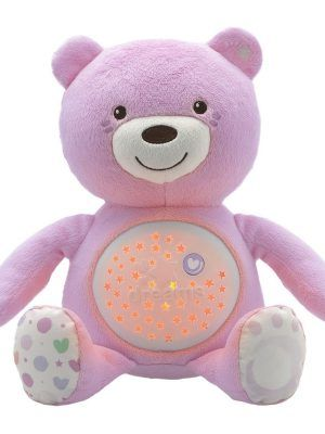 Proyector Chicco Baby Bear Rosa