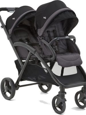Silla Gemelar Joie Evalite Duo Two Tone Black