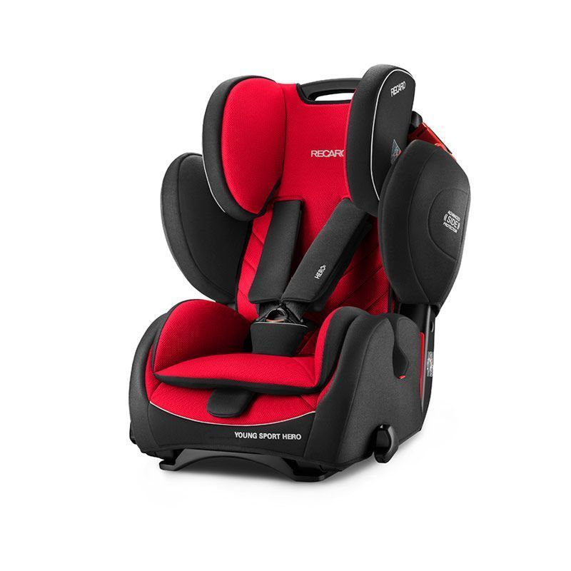 Recaro Young Sport Hero Grupo 123 Racing Red