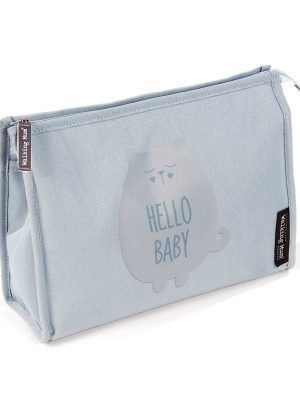 Neceser Hello Baby Walking Mum Gris