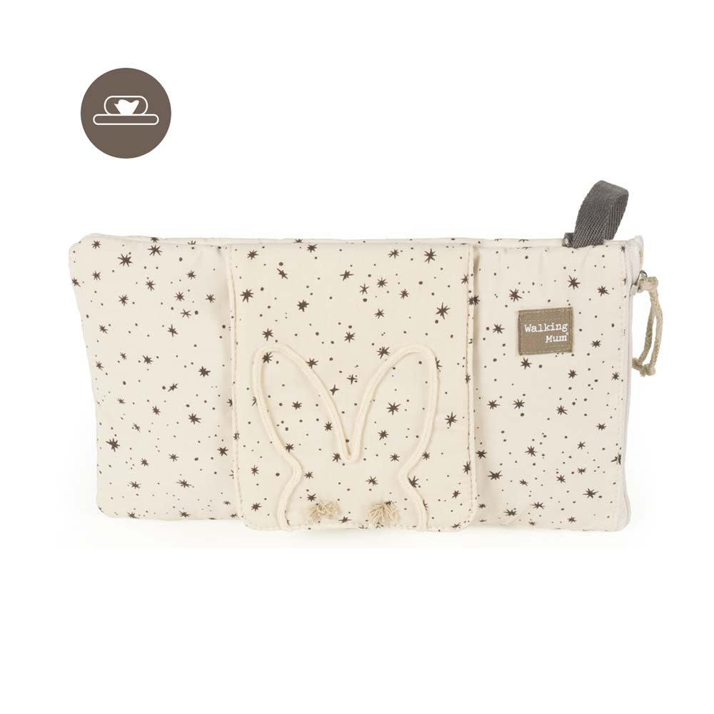Funda Toallitas Positive Walking Mum Beige