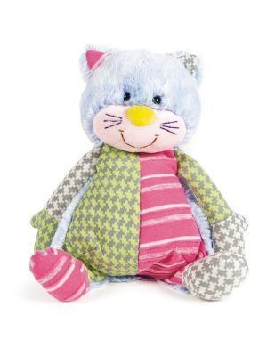 Walking Mum Peluche Gatito Patchwork