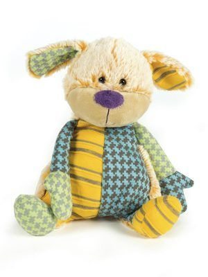 Walking Mum Peluche Perrito Patchwork