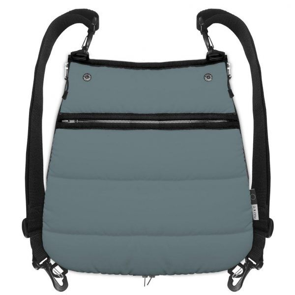 Bolso Mochila Bag Pack Plonge Fuli & C Steel Blue