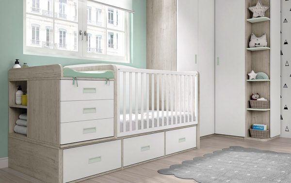 Cuna Convertible Ros Plus 12 ⋆ Decoinfant