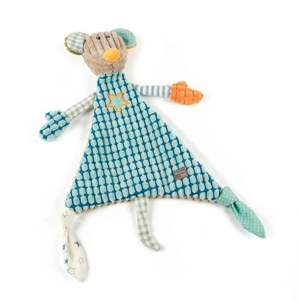 Walking Mum Doudou Ratita Patchwork