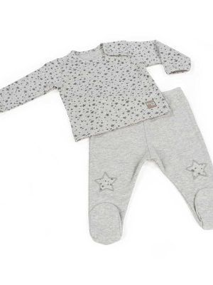 Walking Mum Jersey y Polaina Niño Stars Be Gris