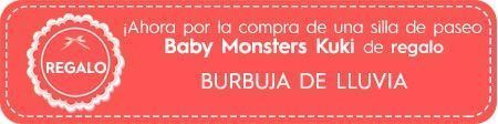 regalo burbuja de lluvia para kuki baby monsters