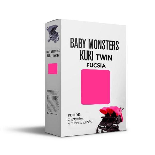 Baby Monsters Set Color para Kuki Twin Fucsia
