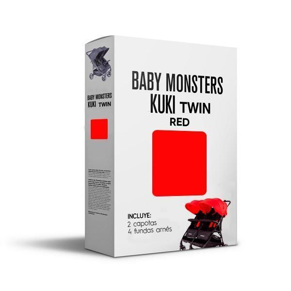 Baby Monsters Set Color para Kuki Twin Red