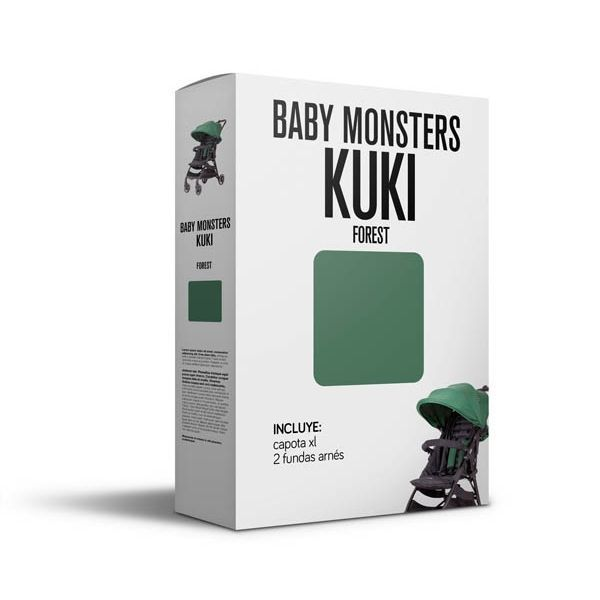 Baby Monsters Set Color para Kuki Forest