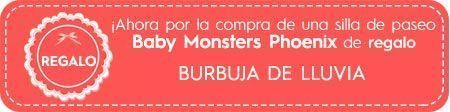 regalo burbuja de lluvia para phoenix baby monsters