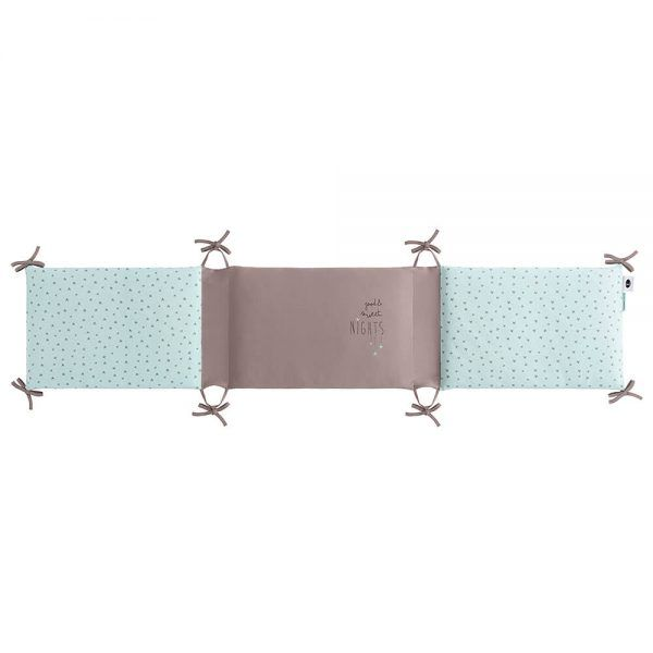 Bimbidreams Protector Cuna Sweet Nights Menta