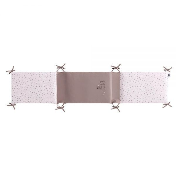 Bimbidreams Protector Cuna Sweet Nights Rosa