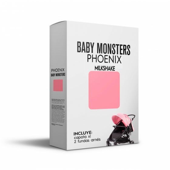 Baby Monsters Set Color para Phoenix Milkshake