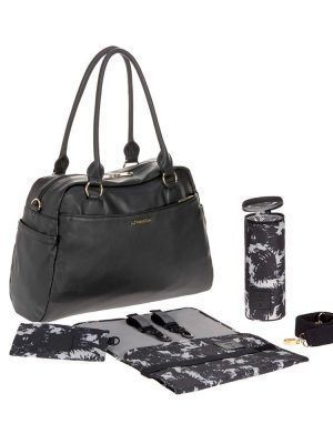 Bolso Cambiador Andrea Shoulder Bag Black Lassig