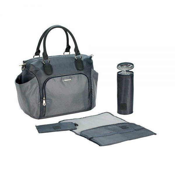 Bolso Cambiador Gold Label Avenue Bag Grey Lassig