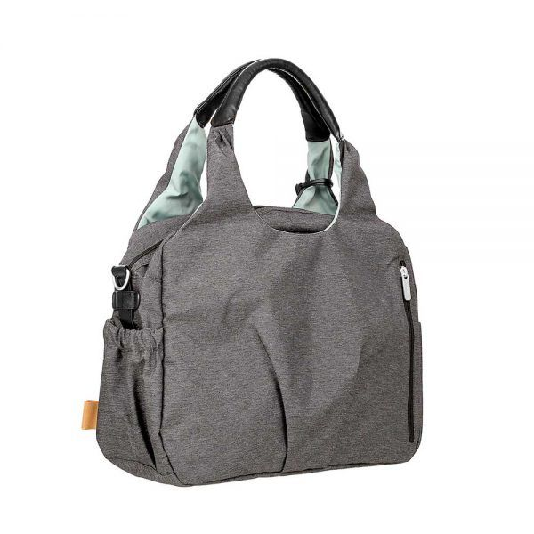 Bolso Cambiador Green Label Global Bag Ecoya Anthracite Lassig