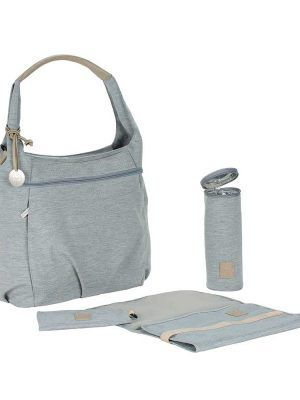 Bolso Cambiador Green Label Hobo Bag Grey Lassig