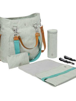 Bolso Cambiador Green Label Mix´n Match Light Grey Lassig