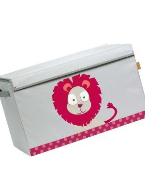 Juguetero Toy Trunk Wildlife Lion Lassig