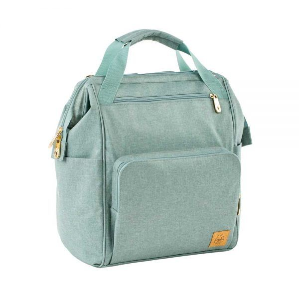 Mochila Cambiador Glam Goldie Backpack Mint Lassig