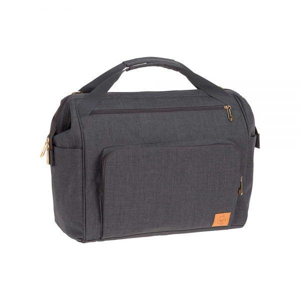 Mochila Cambiador Glam Goldie Twin Backpack Anthracite Lassig