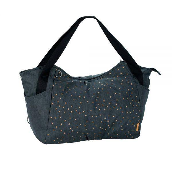 Bolso Cambiador Casual Twin Bag Dark Grey Lassig