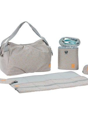 Bolso Cambiador Casual Twin Bag Light Grey