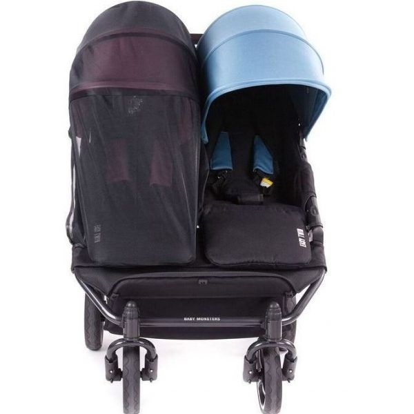 Baby Monsters Mosquitera para Easy Twin