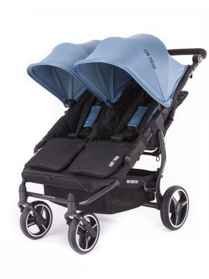 Silla Gemelar Easy Twin 3S Light Baby Monsters Chasis Black