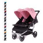 Silla Gemelar Easy Twin 3S Light Baby Monsters Chasis Silver