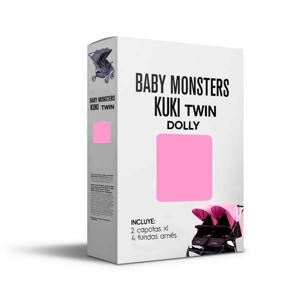 Baby Monsters Set Color para Kuki Twin Dolly
