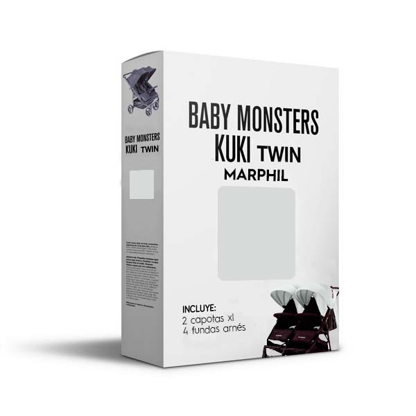 Baby Monsters Set Color para Kuki Twin Marphil