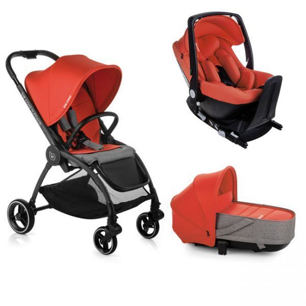 Trío Be Cool Outback Crib One Base One