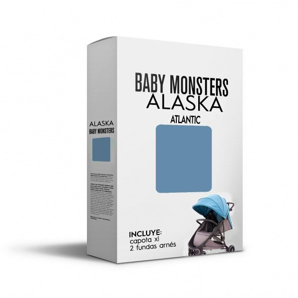 Baby Monsters Set Color para Alaska Atlantic